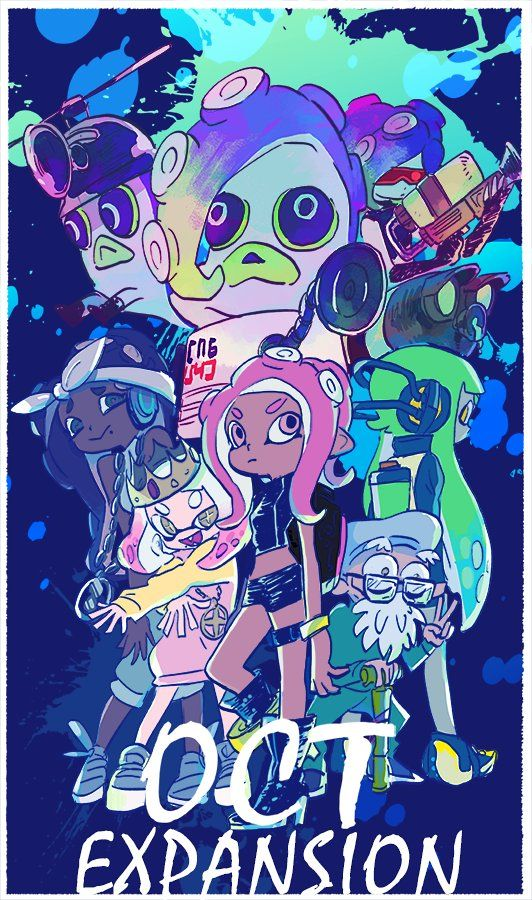 Mobile Wallpaper Of Splatoon 2 Octo Expansion Does Someone Know