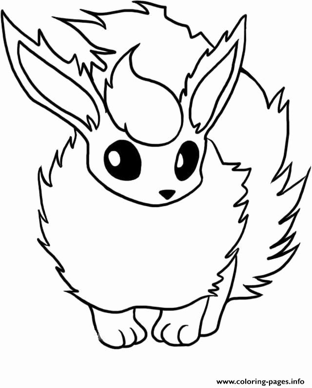 Pokemon Flarion Coloring Pages For Kids In 2020 Pokemon Coloring Sheets Pokemon Coloring Pokemon Coloring Pages