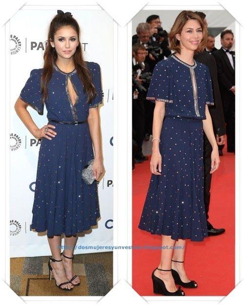 Un vestido de Michael Kors primavera 2014 se lo vimos a Nina Dobrev en el PaleyFest, y en Cannes a Sofia Coppola