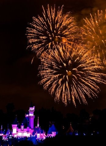 Disneyland Fireworks <3