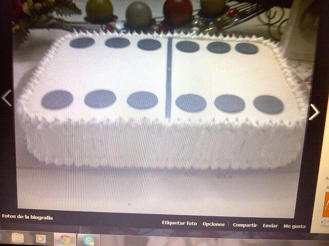 Torta Dominó para el día del padre