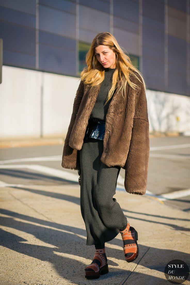 New York Fashion Week Fall 2017 Street Style: Ada Kokosar