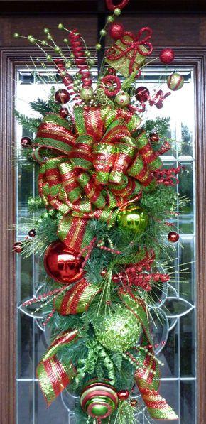 Guirnalda de Navidad WHIMSpuertasICAL SWAG por decoglitz en Etsy