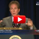 Could NASCAR legend's powerful, BLUNT message have triggered Obama's angry anti-Christian rant?