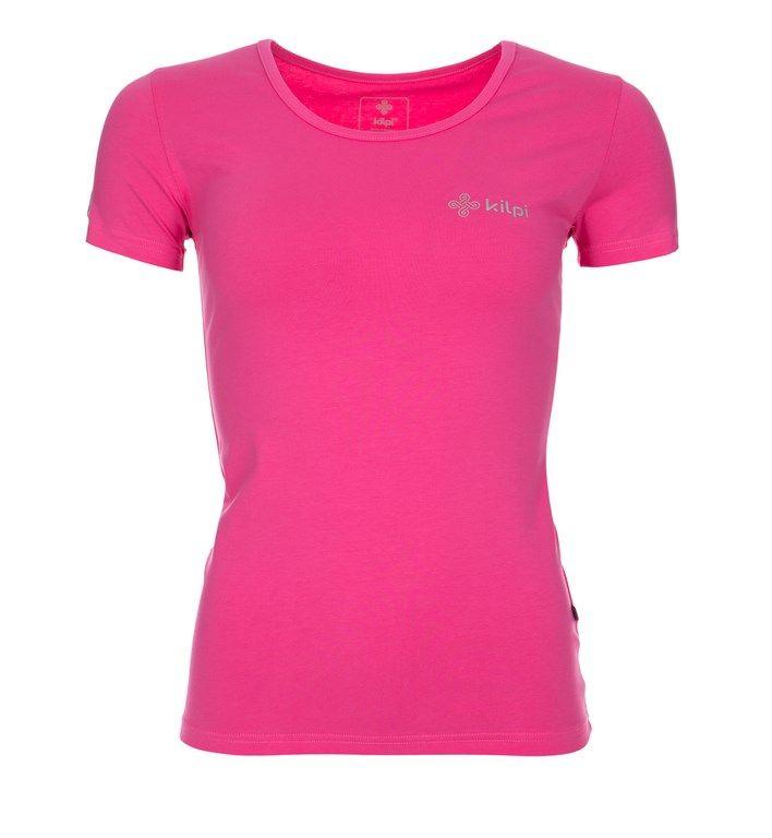 Women's T-shirt KILPI - FIABA - pink