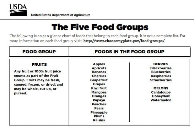 Fun Ideas For Teaching Nutrition To Kids Nutrition Five Food Groups Kids Nutrition