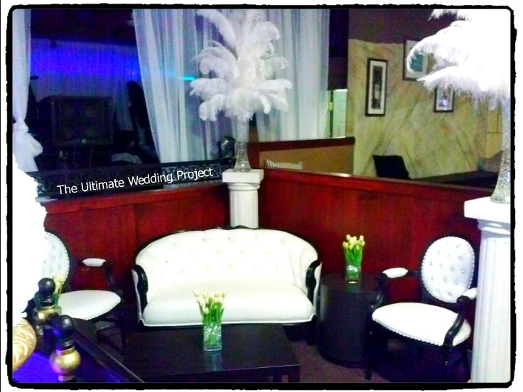 Move Feather Centerpieces and our furniture