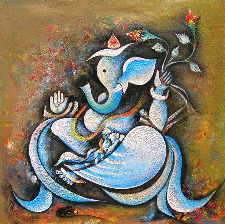 1000 images about kmurals on pinterest ganesha india for Mural ganesha