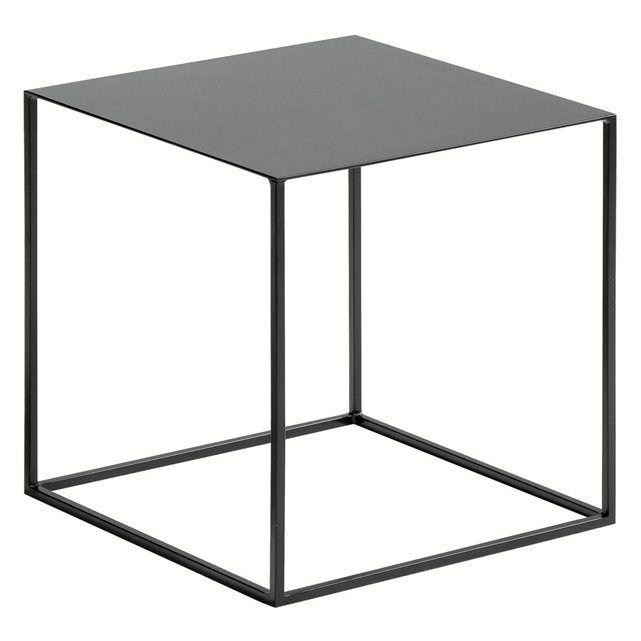 Bout de canapé ou table de nuit Romy - Métal laqué -  AM.PM