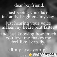 Dear Boyfriend..