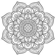 Hearts Coloring Book | Adult Coloring Pages - Mandala Art Déco: