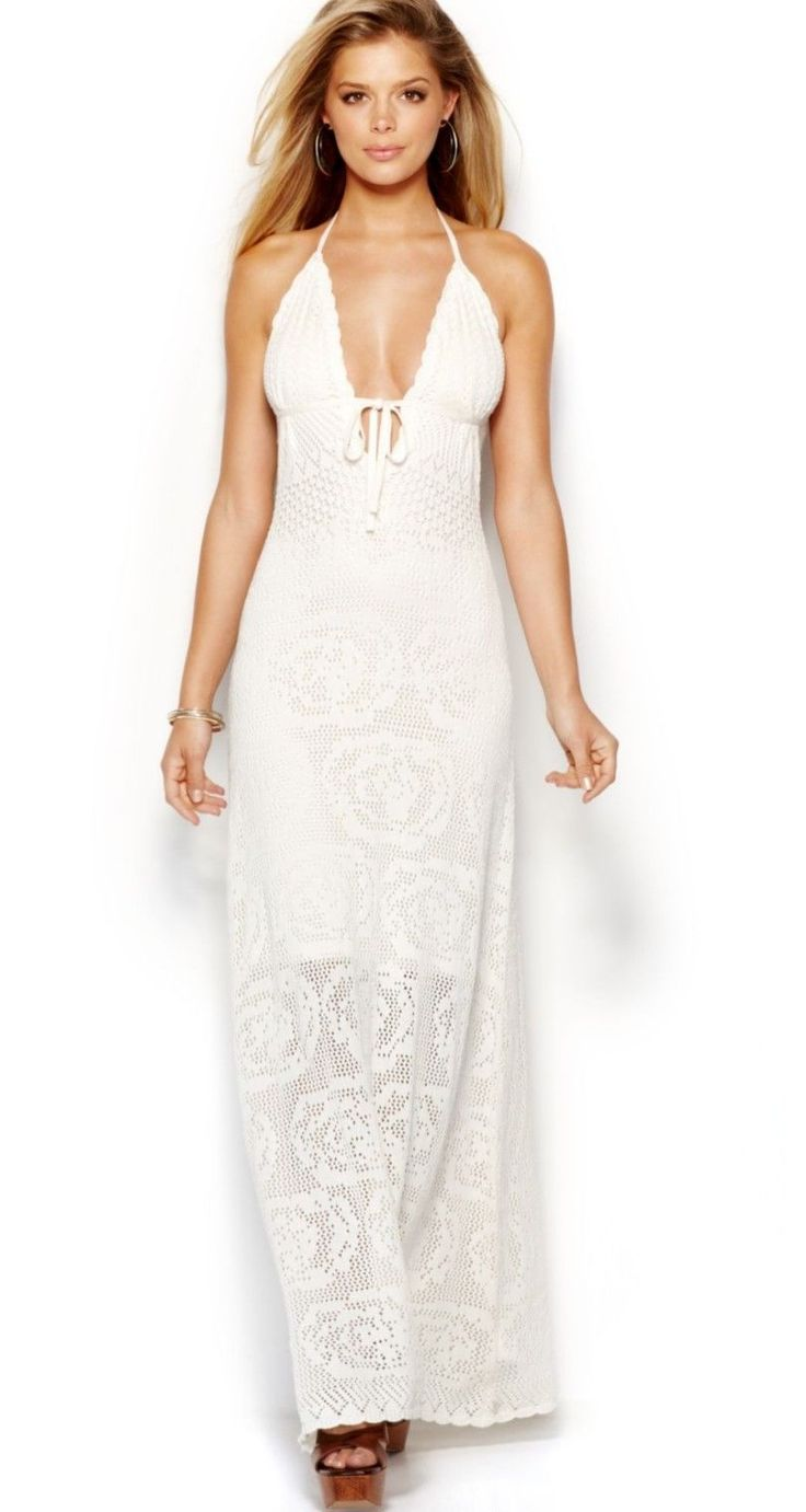 Cool Guess Crochet Halter Ivory Maxi Dress Size Small  2017-2018 Check more at http://fashion-look.top/product/guess-crochet-halter-ivory-maxi-dress-size-small-2017-2018/