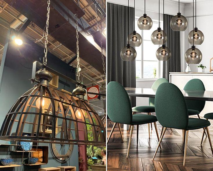 Verlichting Trends Woontrends Voor 2020 Verlichting Hanglamp Eettafel