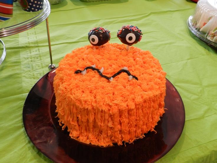 big monster cake for everyone!