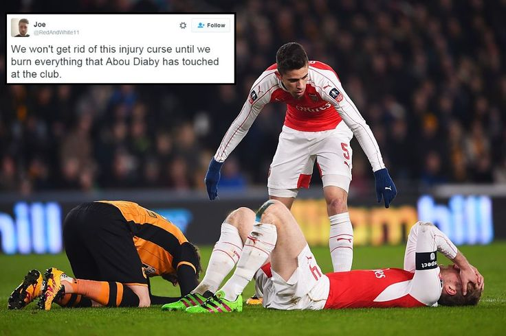 All three Arsenal substitutions in FA cup replay against