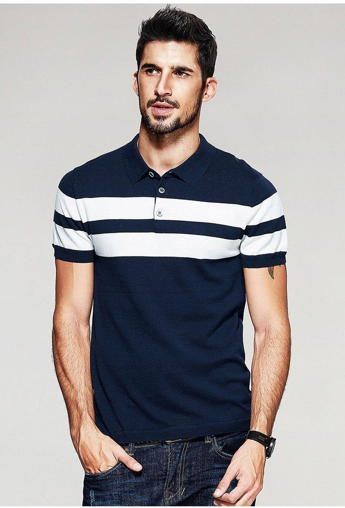 Casual Slim Fit Polo T-Shirt For Men - Manvsture