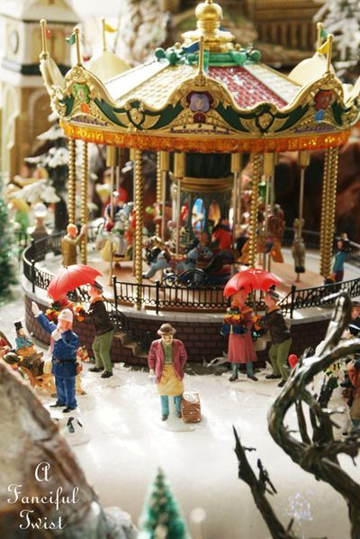 78 Best Carnival Villages Images On Pinterest Christmas Villages