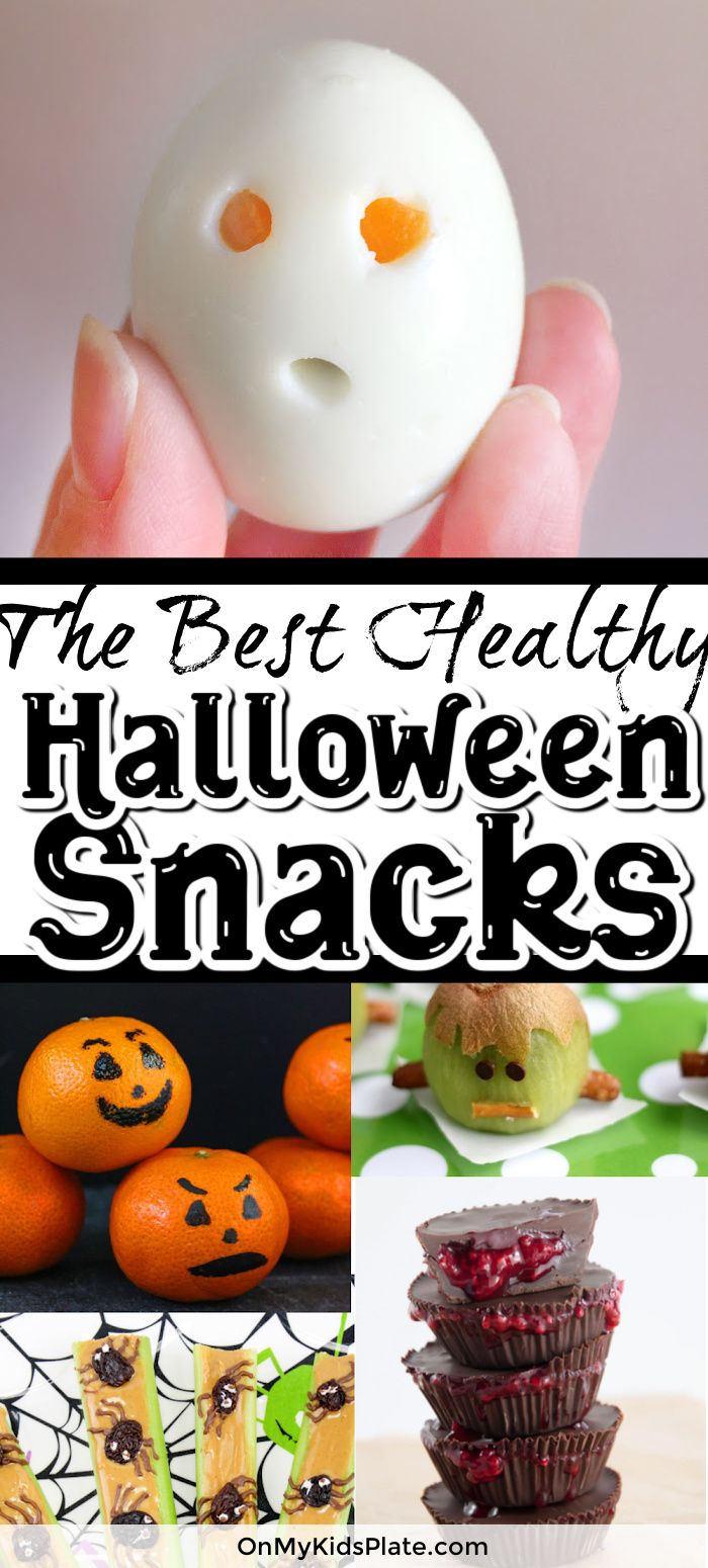 My Candy Love 2020 Halloween The Best Healthy Halloween Snacks in 2020 | Healthy halloween