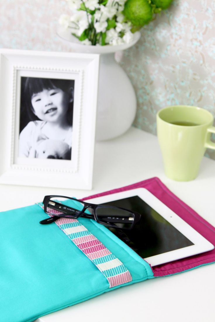 FREE Project : Tablet Coverlet | #tablet #sewing #freeproject