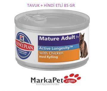 Hill's Mature Science Feline Adult Chicken Kedi Konserve 85 gr