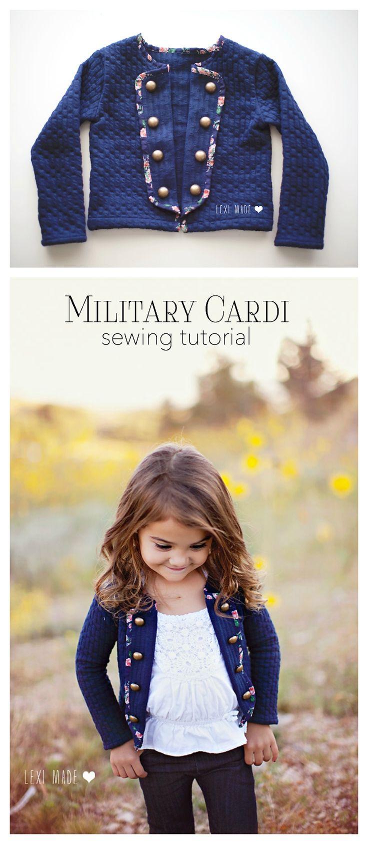 Military Cardi DIY