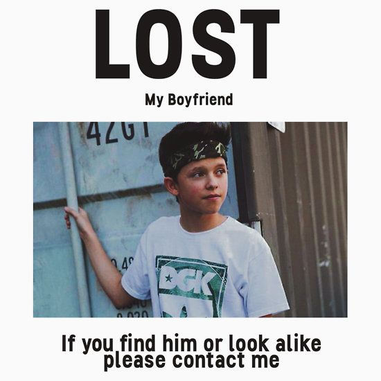 Lost Boyfriend: Jacob Sartorius (White Version)