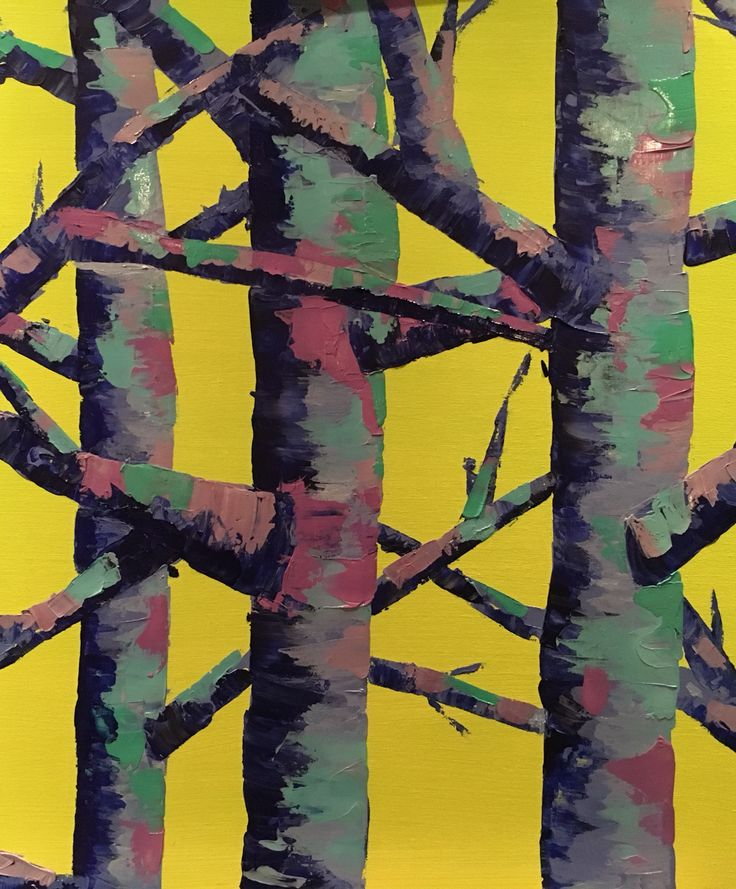 Tree painting by Anna Gibbs