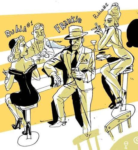 """Sinatra está resfriado -  Gay Talese. La revista Esquire encargó en el año 1965 a Gay Talese un perfil sobre la vida de Frank Sinatra que se convertiría, según los editores de esta revista, en """"la mejor historia jamás publicada en Esquire""""."""