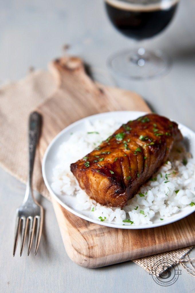 Honey porter glazed cod fillets recipe cod fillet for Recipes for cod fish