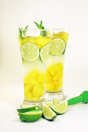 Day Spa Mango Mojito Infused Water Recipe