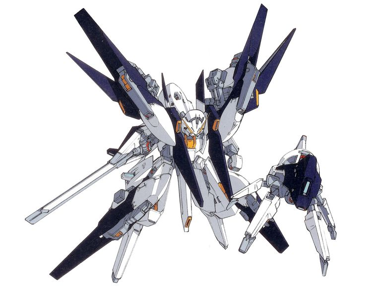 The RX-124 Gundam TR-6 (Woundwort-Rah) is a variant of the TR-6 Woundwort series produced by The Titan Test Team. The unit appears in the Advance of Zeta: The Flag of Titans Manga.
