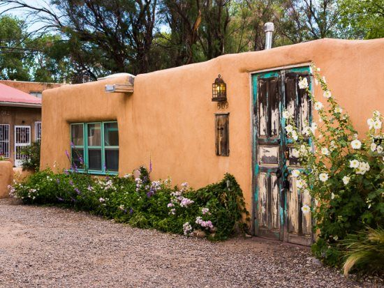 45 best rustik house images on pinterest haciendas for Santa fe new mexico cabin rentals