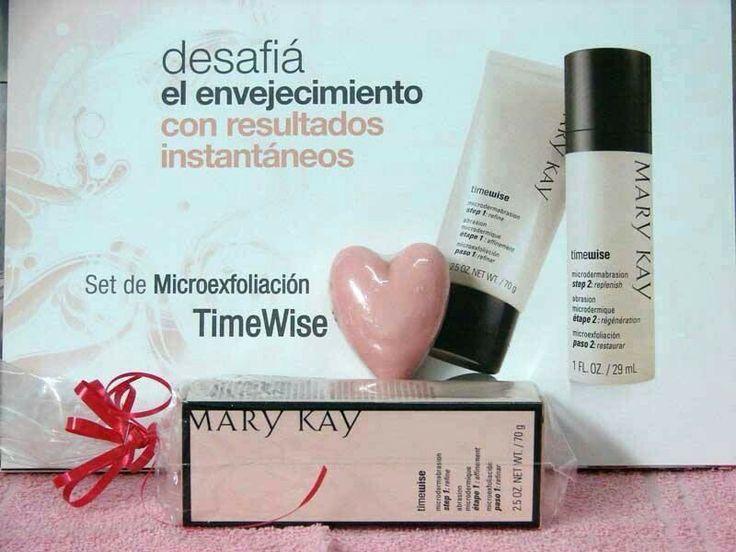 Microexfoliaciónwww.marykay.com.mx/almareza #marykaydfsur Facebook/Ilumina tu Belleza con Mary Kay