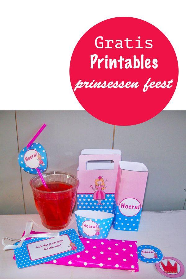 gratis prints voor je waarmee je je prinsessenfeestje nog leuker maakt, Suus kinderfeestjes