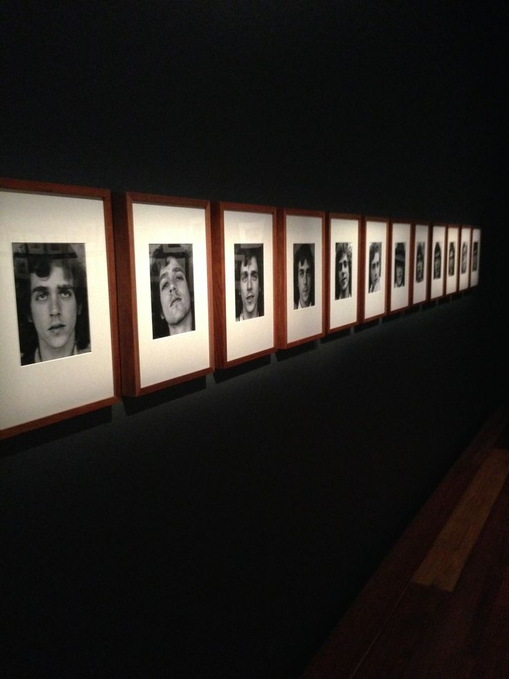 Sue Ford exhibition - 2014 Growth (or Paul grows a beard) 1975, printed 1995 Gelatin silver photographs National Gallery of Victoria, Australia (NGVA)