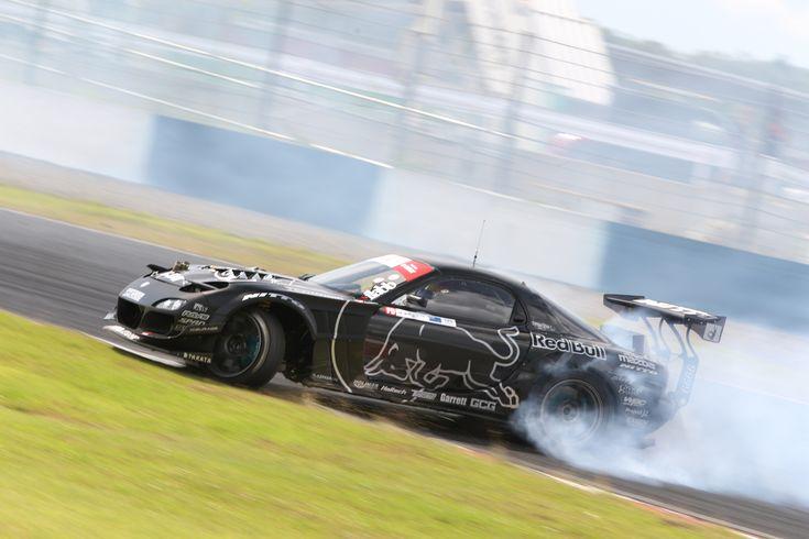 MZ Racing - MAZDA Motorsport - Mad Mike's HUMBUL RX-7 Grabs 9th at Formula Drift Okayama Round