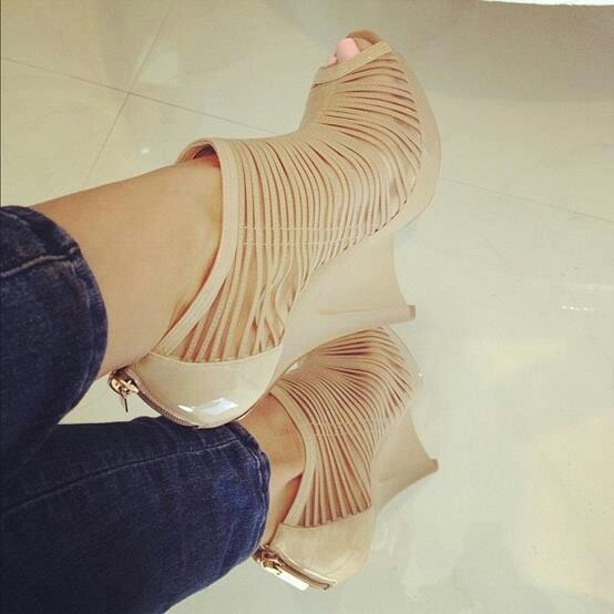 Hot heels with jeans