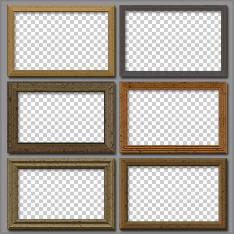 Free PSD Wooden Frames