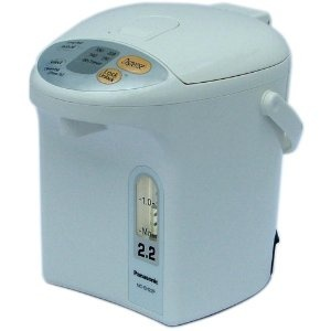 Love our always-hot electric water pot, Panasonic NC-EH22PC 2.3 Quart Electric Thermal Hot Pot.  $65.98 when posted