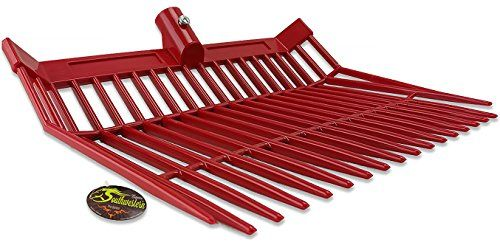 Perfect Scoop Replacement Fork Heads - By Southwestern Equine (Red)  HEAVY DUTY - Tines and fork head.  FLAT BOTTOM - Triangle tines - ensure low contact with the ground.  UV RESISTANT - Made to not fade or crack from exposure to the sun  EASY REPLACEMENT - Universal mount for easy replacement (Handle Not Included)  REINFORCEMENT - Another bar provided further down the fork, to prevent rocks, manure pieces, sticks, from getting caught in the tines and making it hard to keep cleaning or...