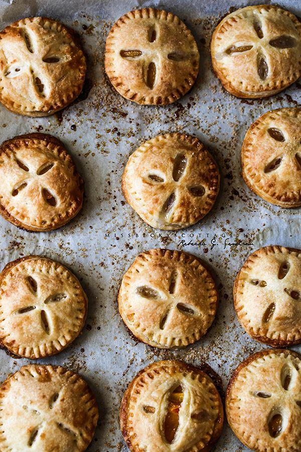 persimmon hand pies