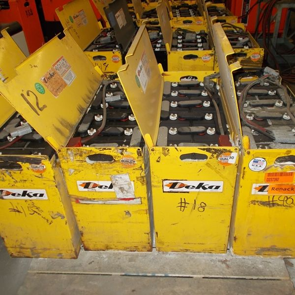 Used Deka 12-D85-13 Batteries