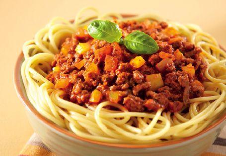 Quorn Spaghetti Bolognese #healthy #recipe #NewYearNewYou