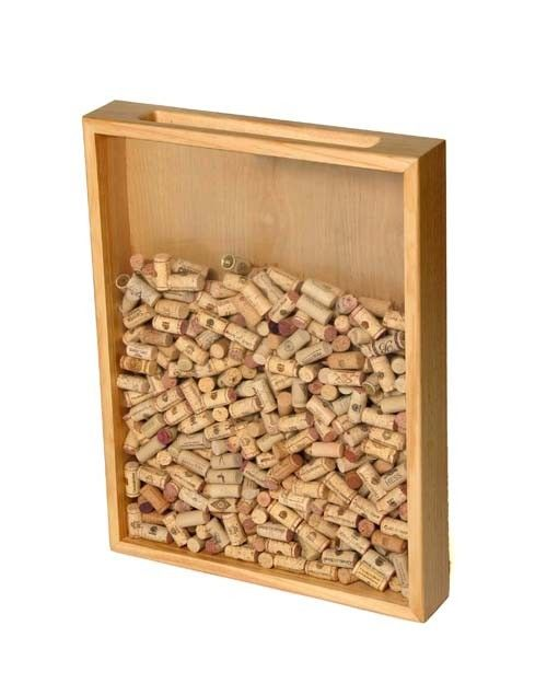 Fun Ways To Display Wine Corks: Clear Pine - Large - Wine Cork Holders
