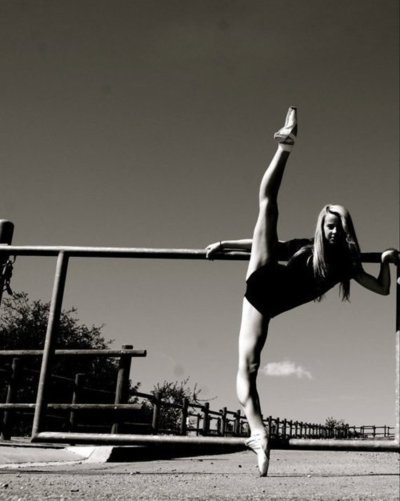 Goal for 2012: to get this back. I miss my toned, flexible dancer body.
