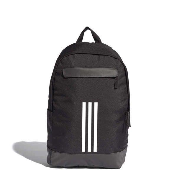 b0bad83038 adidas Classic 3 Stripes Backpack Medium Black School Bag Casual Rucksack  CF3300  adidas  Backpacks