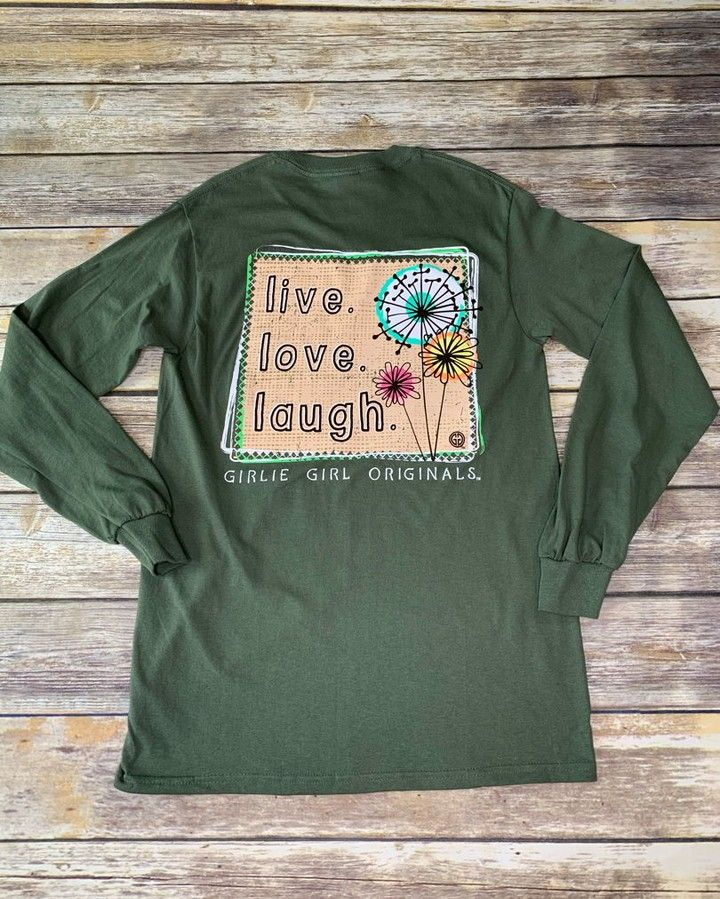 We Have These Long Sleeve Tees Jn Stock Come By And See Us We Are Open Today Until 3 Https Thebeautyall Girlie Girl Originals Insta Fashion Fashion Blogger