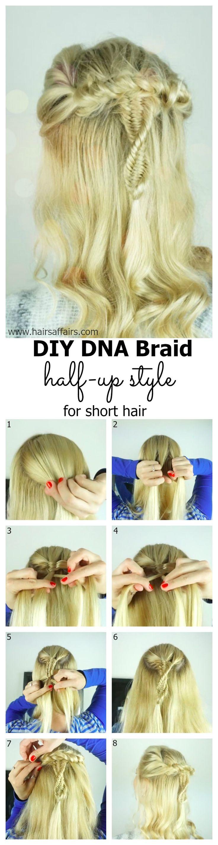 DNA braid tutorial at https://hairsaffairs.com/dna-braid-3-strand-fishtail-braid-tutorial/