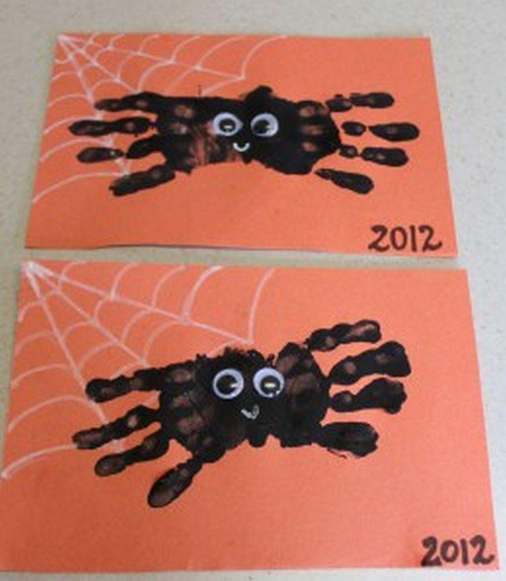 Beste Ideen Halloween Basteln für Kinder (7