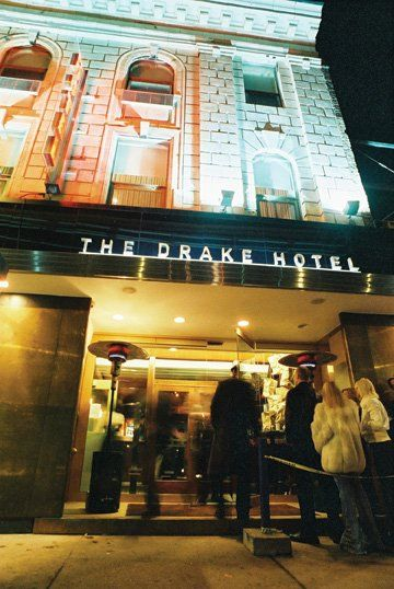The Drake Hotel - 1150 Queen Street West - The place to be if you're up for a classy night. Listen to poetry slams, enjoy the rooftop patio, and see great bands & artists!